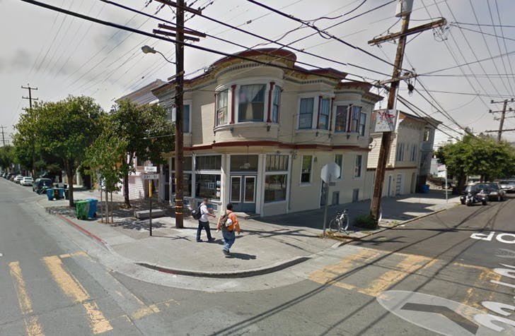 Google Street View of Local's Corner in San Francisco's Mission district.