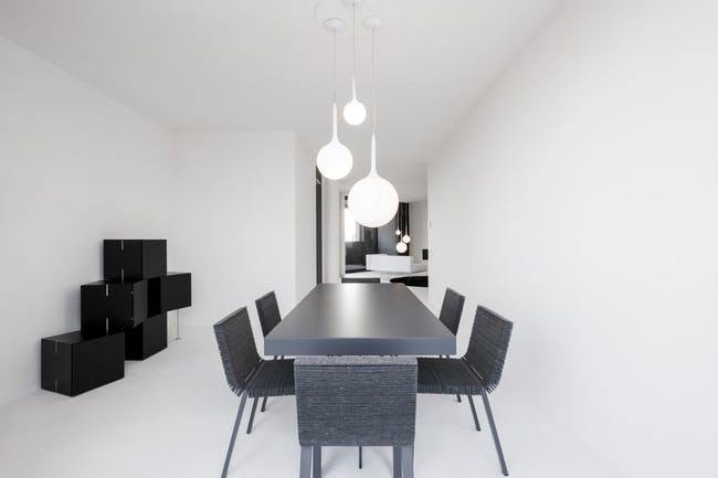 LAGO_apartment in Milan, Italy by cristianavannini | arc; Photo: Saverio Lombardi Vallauri