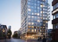 Geysir Residential Tower, winning design proposal by CF Møller