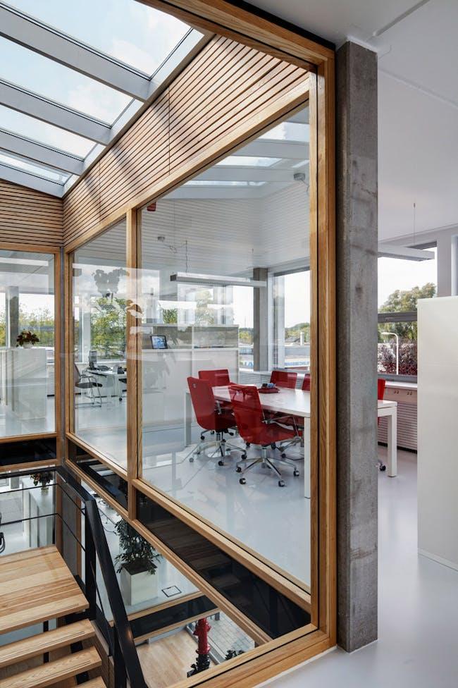 Qualm HQ in Rozenburg, The Netherlands by Sputnik Architecture Urbanism Research (Photo: René de Wit)