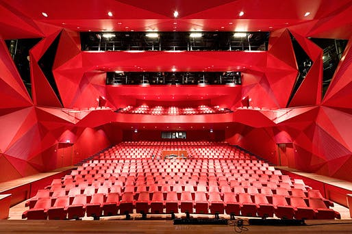 Theatre Agora in Lelystad, the Netherlands by UNStudio, Photo: Iwan Baan