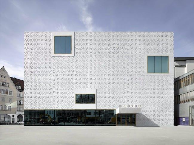 Vorarlberg Museum Bregenz in Bregenz, Austria by Cukrowicz Nachbaur Architekten ZT GmbH; Photo: Adolf Bereuter