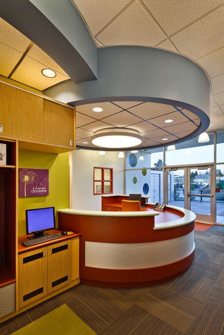 modern childcare facility for 215 students   staff  early childhood  development design program  vibrant. UCLA Childcare Center   AB design studio   Archinect