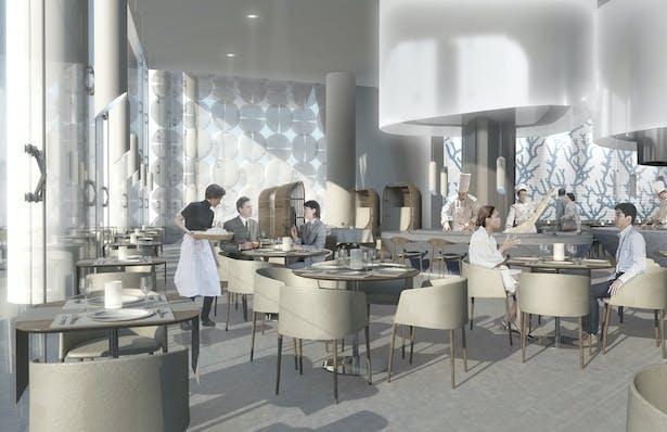Three-Meal Restaurant