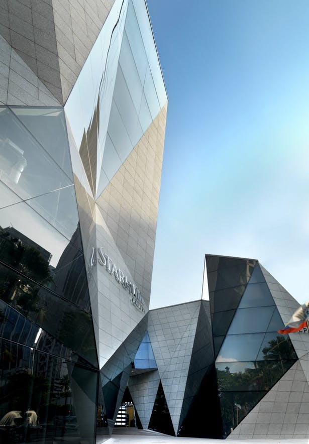 Eye level view of Starhill Gallery and Sephora