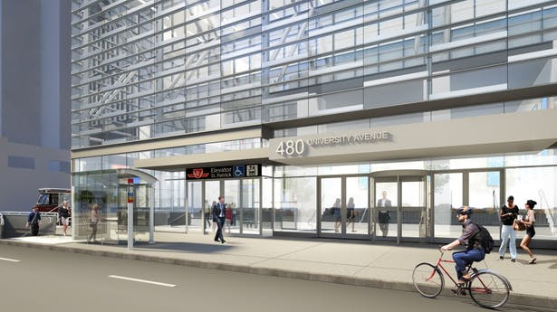 488 University TTC Entrance