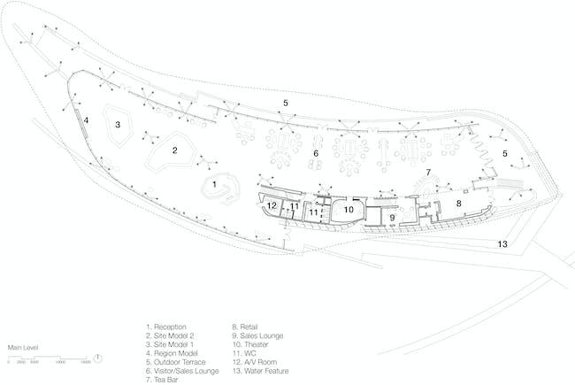 Main Level, drawing courtesy of Bohlin Cywinski Jackson