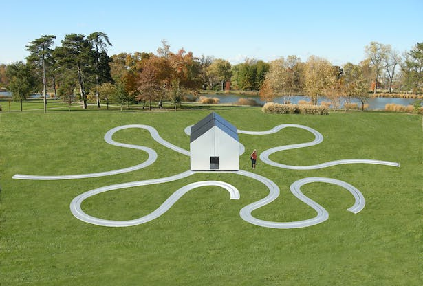 The Interactive Fragmented Meandering House.