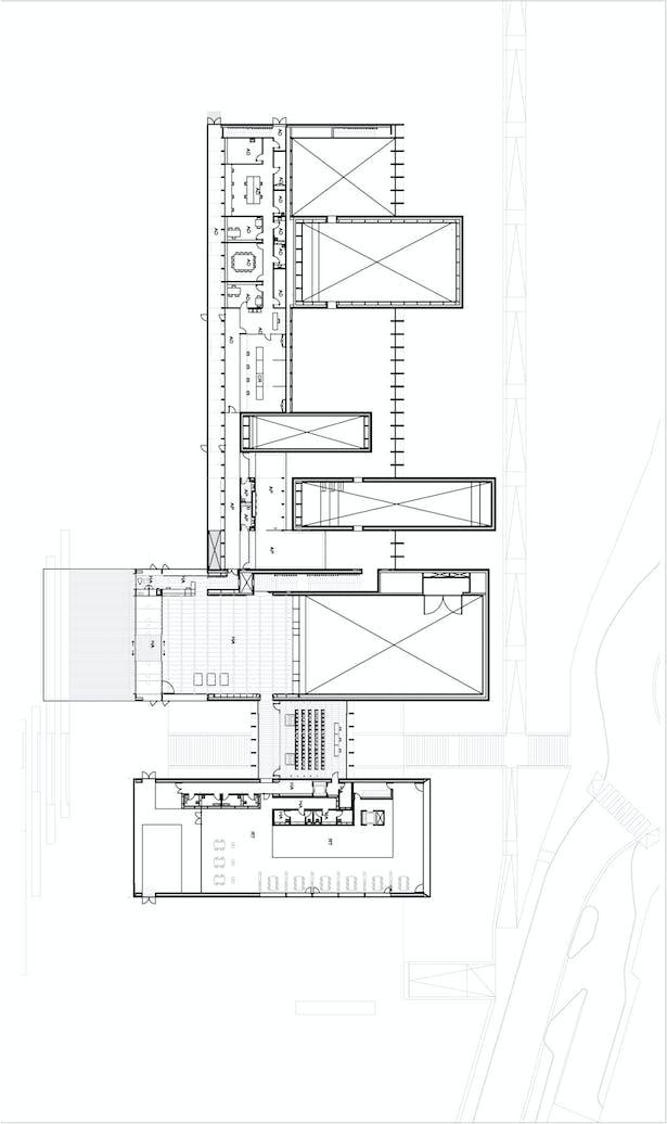 Mezzanine House Facade