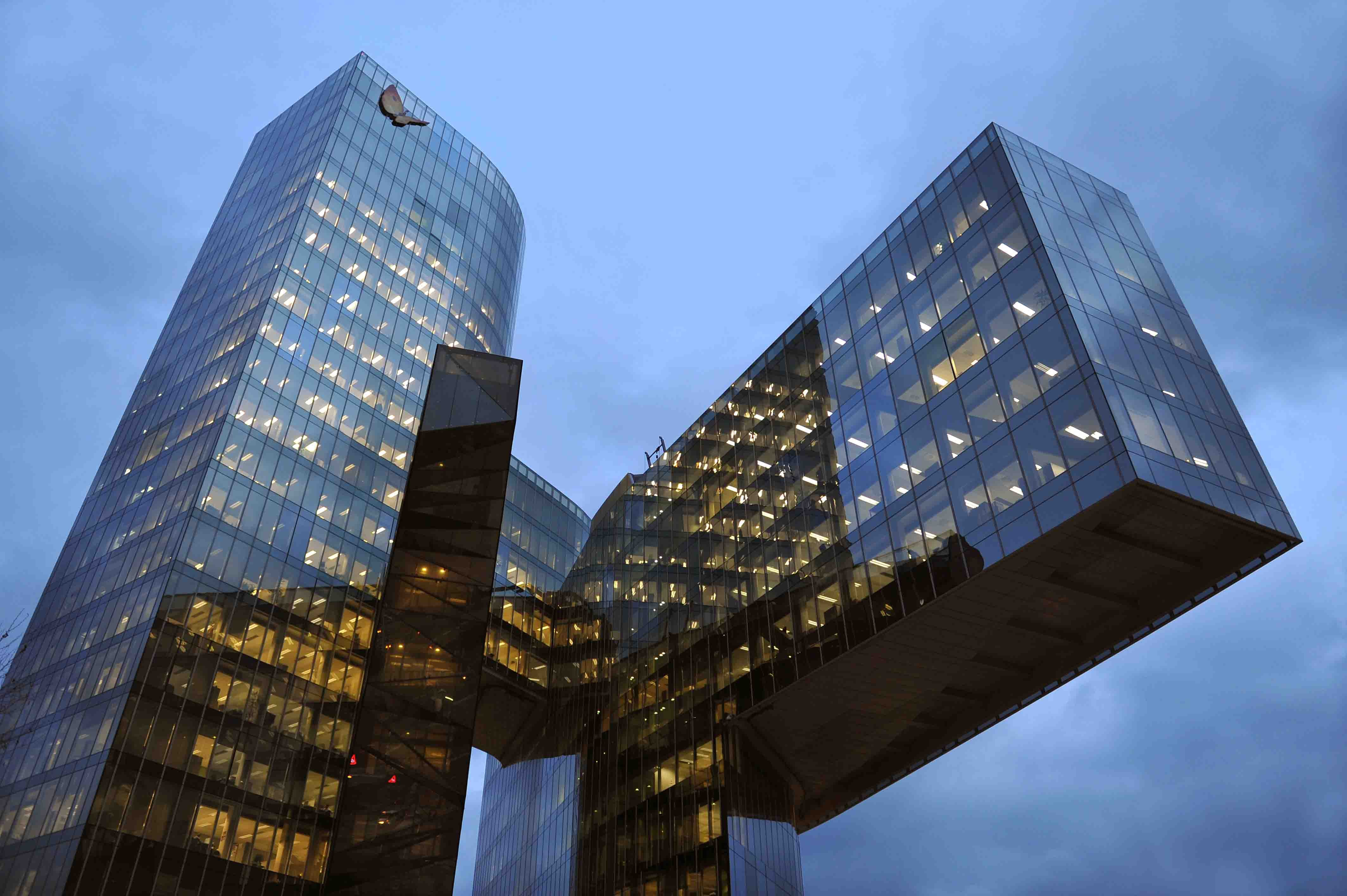 Gas Natural Office Building Miralles Tagliabue Embt