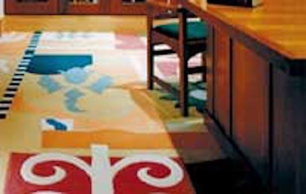 Rare book room carpet