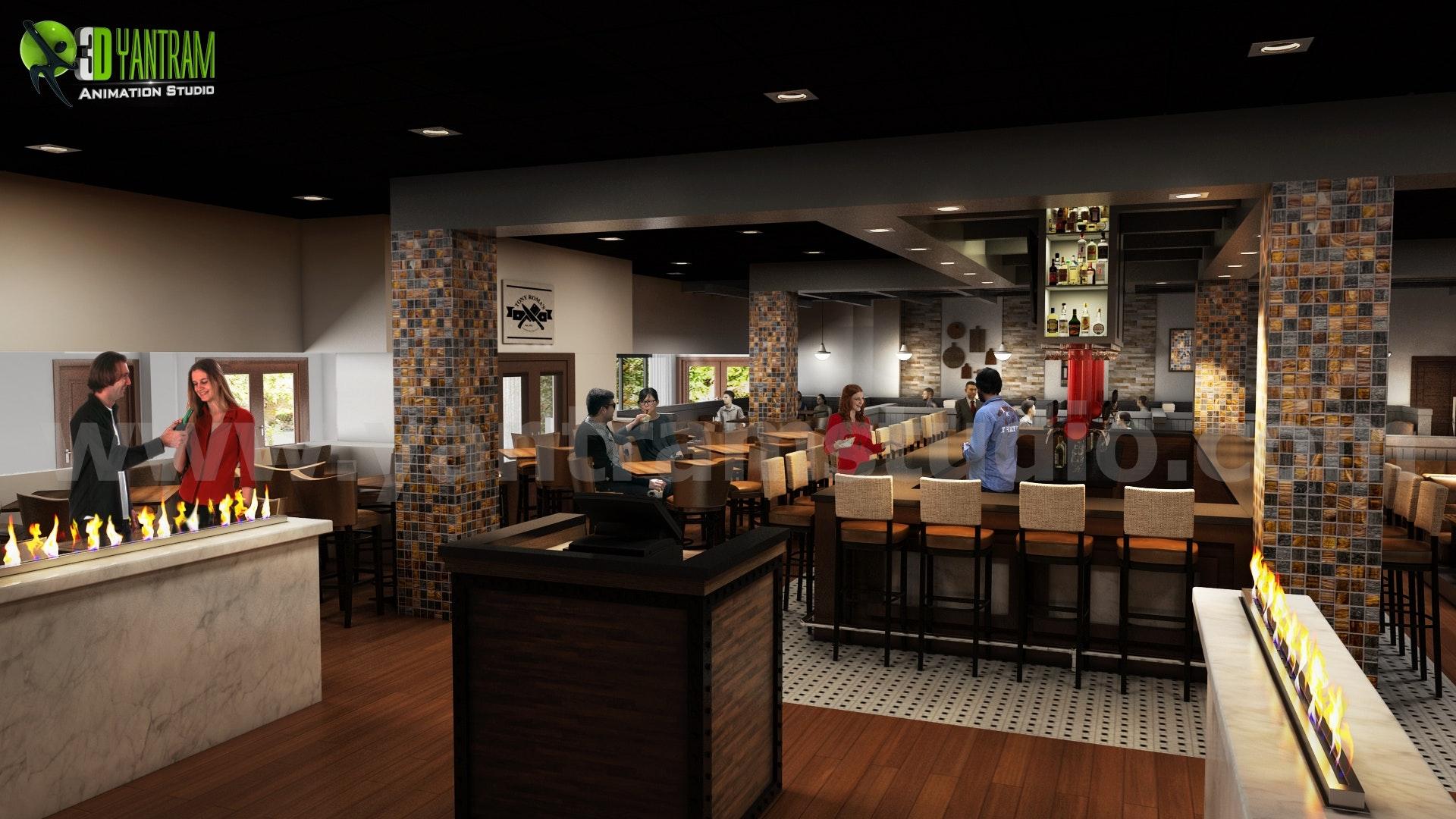 Inspiring Restaurant Bars Modern Design