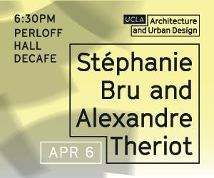 Lecture with Stéphanie Bru and Alexander Theriot