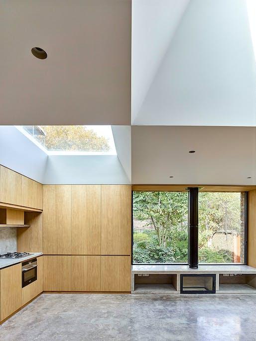 Hidden House by Coffey Architects - Clerkenwell, London. Photo: Timothy Soar.