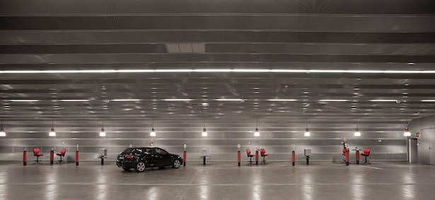 Centro de servicio del automóvil. Madrid