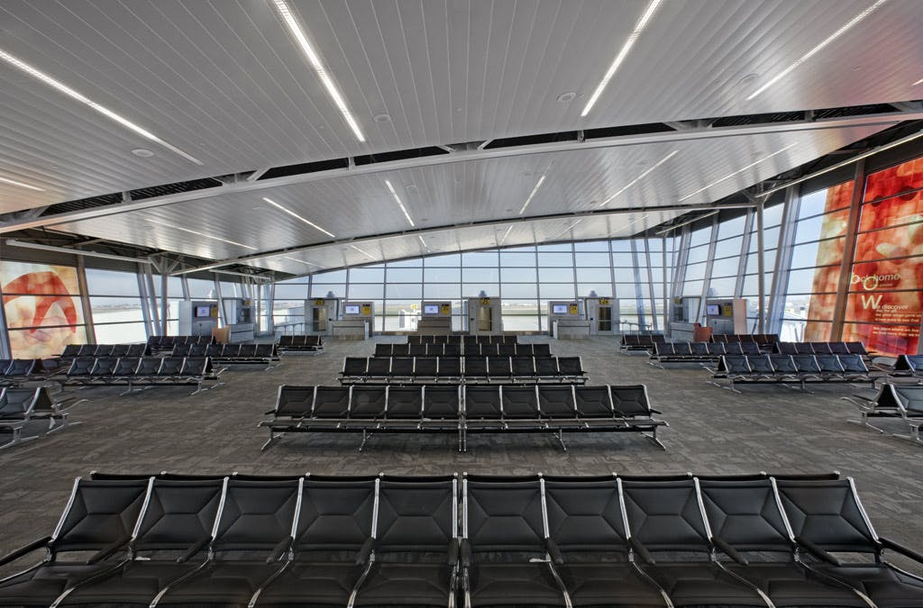 Indianapolis Airport Hunter Douglas Architectural Archinect