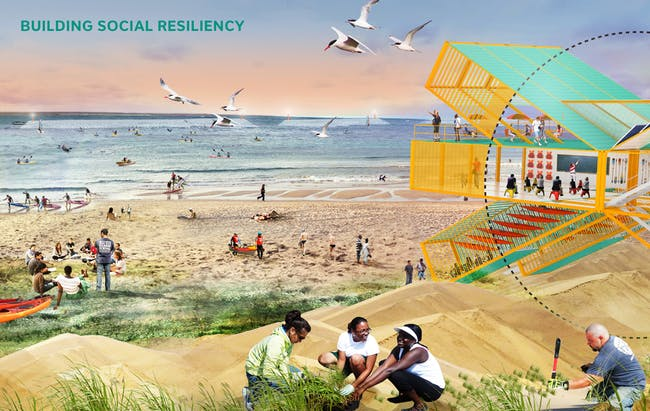 2014 Buckminster Fuller Challenge winner: Living Breakwaters