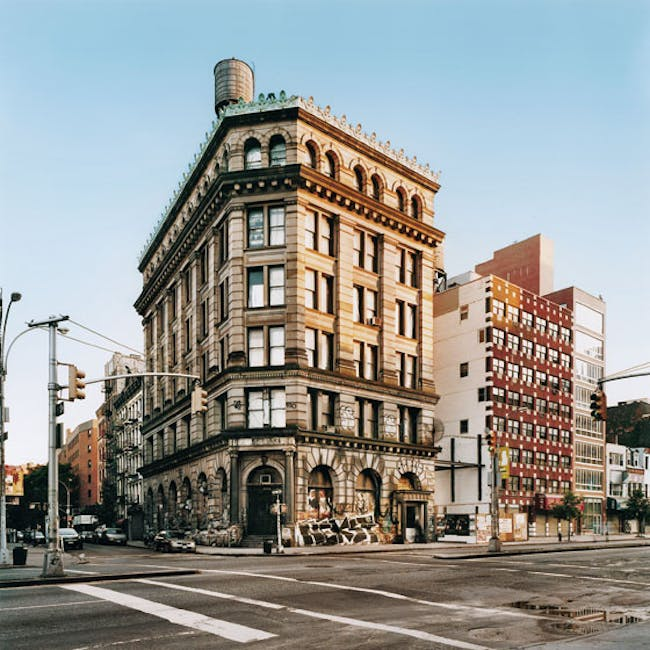 190 Bowery - bought in 1966 for $102,000. Now real-estate brokers estimate it's worth at least $30 million. Photo- Leigh Davis