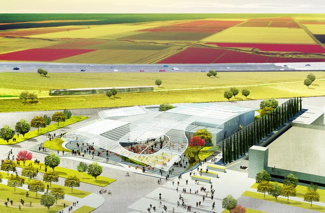 UC Davis art musuem design by SO - IL in partnership with Bohlin Cywinski Jackson, and built by Whiting-Turner