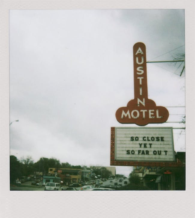 Austin Motel, Austin, Texas. [Photo by donte] via David Heymann