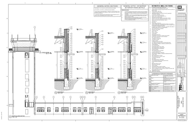 Wall Section - Details ***Please feel free to contact me for a higher resolution PDF copy of the detail drawings shown above***