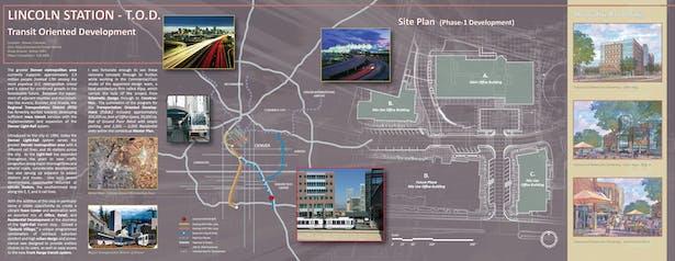 Lincoln Station presentation board 01