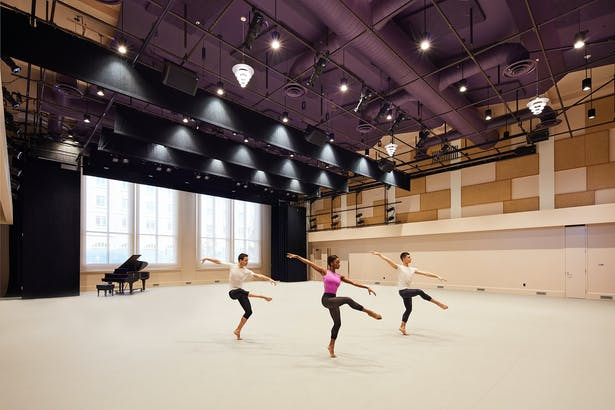 Interior, Performance Studio