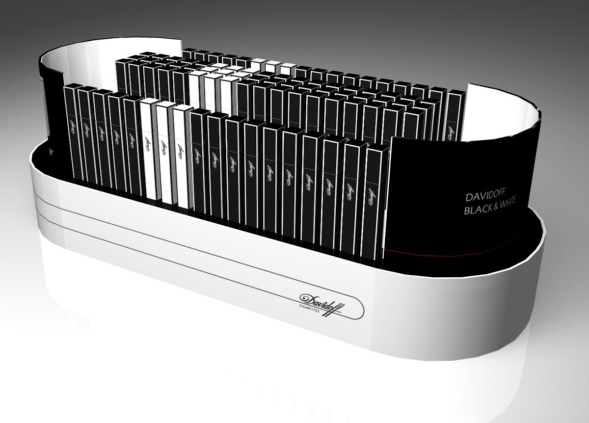 Davidoff BLACK & WHITE | richard abi saab | Archinect