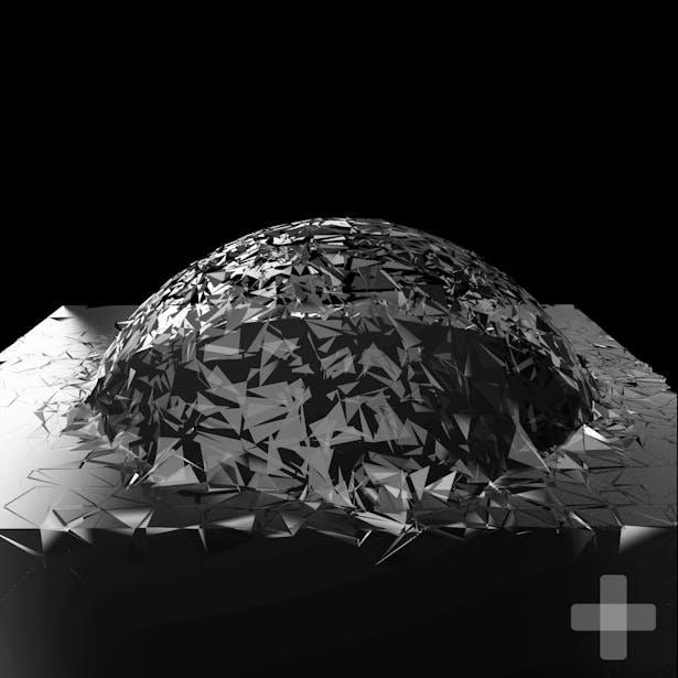 Cube implosion