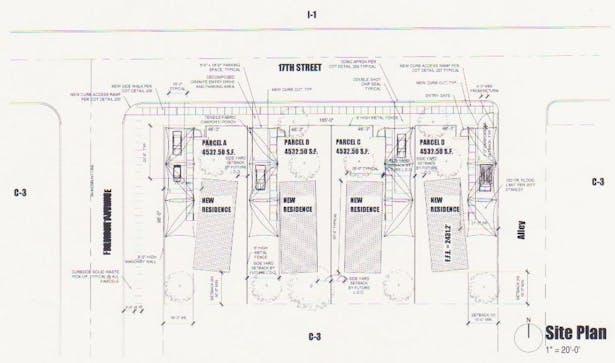 Barrio Metalico Nord Site Plan