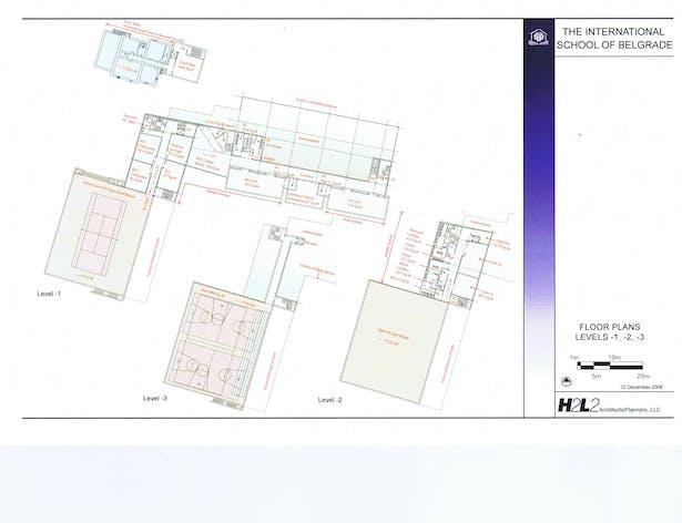 Floor Plans (level -1,-2,-3)