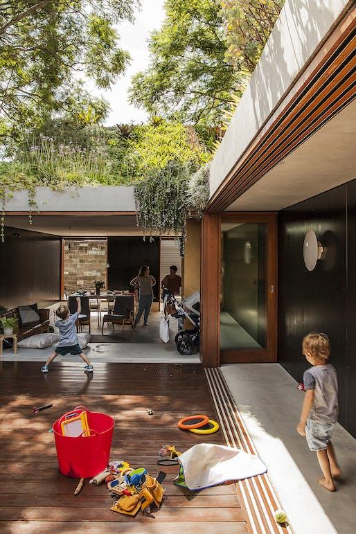 Hugh and Eva Buhrich Award for Residential Architecture: Laneway House. Photo: Jon Jacka.