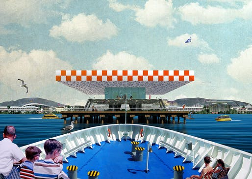 Point Supreme (Konstantinos Pantazis & Marianna Rentzou), 'Faliro Pier,' 2012. Archival inkjet print. 23 1/2 x 33 inches. Courtesy of the artists.