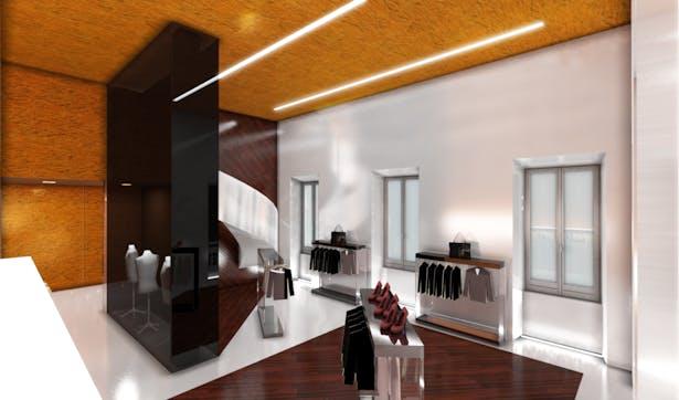 Percassi Showroom -Milan. Architect/Head Designer:Marco Rocha