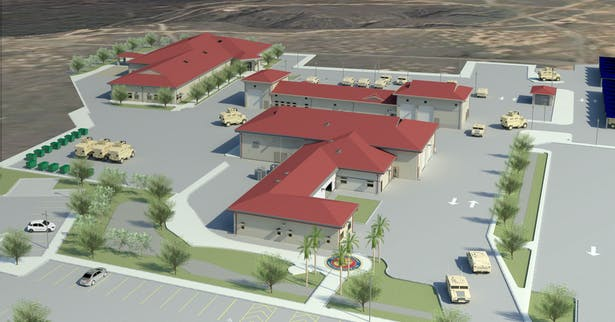 Overall ANGLICO site rendering