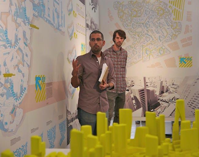 SUPRASTUDIO Neil Denari GEO_GRAPHICS 2012 Review. Courtesy of UCLA Architecture and Urban Design