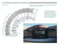 Steel Canopy, Curran Corp. Office Building