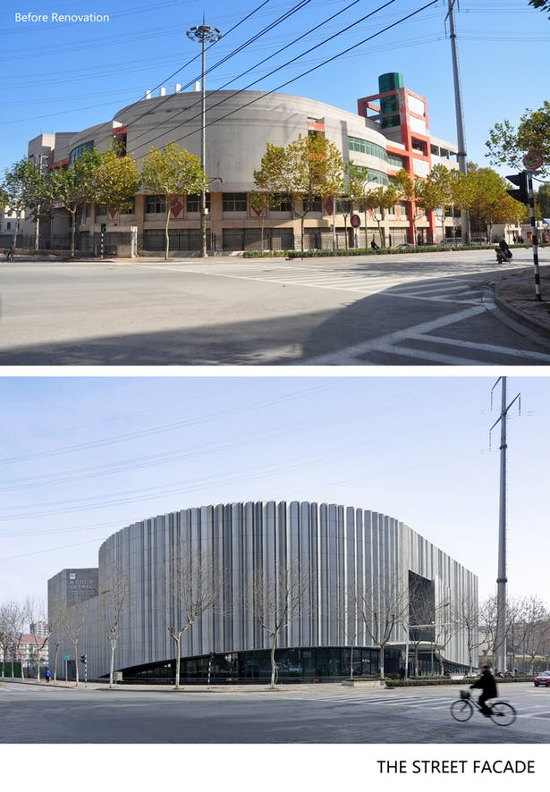 Before after General facade
