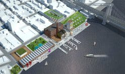 HAO's idea proposal to revive Brooklyn's old Domino Sugar Factory into cultural destination