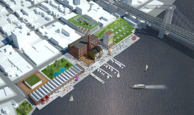 HAO's commissioned idea proposal for the new Domino Culture Factory. Image: HAO