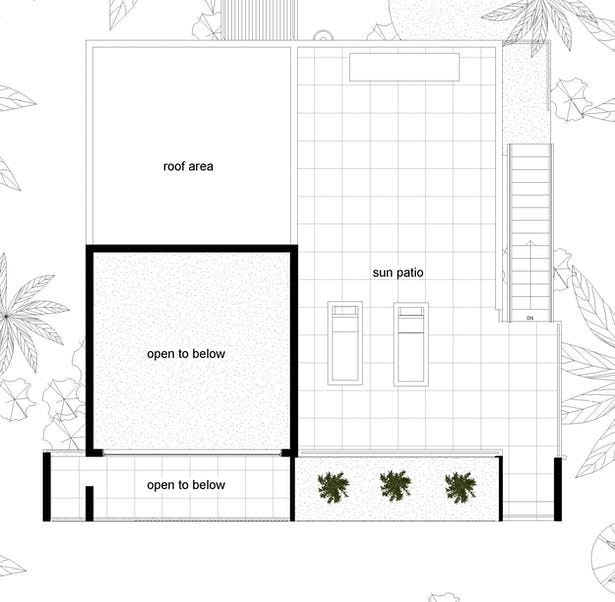 Proposed St. Thomas House Clifford O. Reid Architect. All Rigths Reserved
