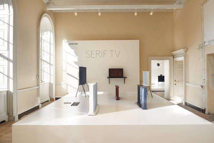 Erwan and Ronan Bouroullec's 'Serif TV', image via londondesignfestival.com.