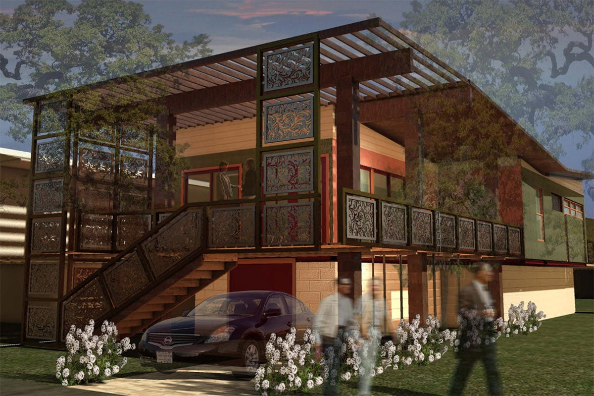 Finalists of usgbc 2010 natural talent design competition for Small house design competition