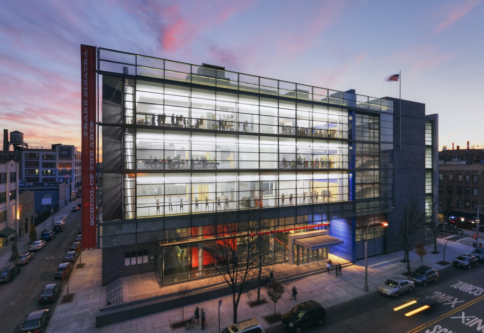 Frank Sinatra School Of The Arts Ennead Architects Archinect