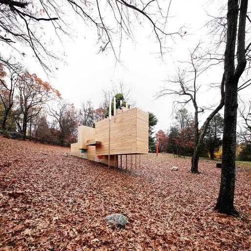 Five Fields Play Structure in Lexington, MA | FR|SCH Projects in collaboration with Matter Design. Photo © Brandon Clifford.