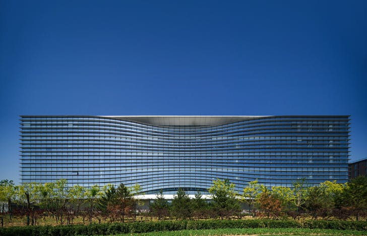 Sina Plaza, Beijing, China. Credit: Aedas.