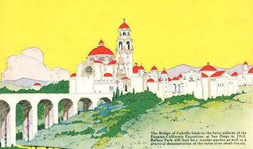 """LA's Mike the Poet looks back on San Diego's """"Spanish Magic"""" architecture"""