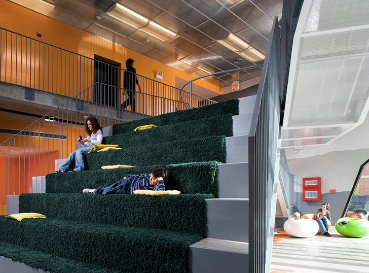 2011 Design Milestone: Lavezzorio Community Center by Studio Gang. (Photograph by Steve Hall)