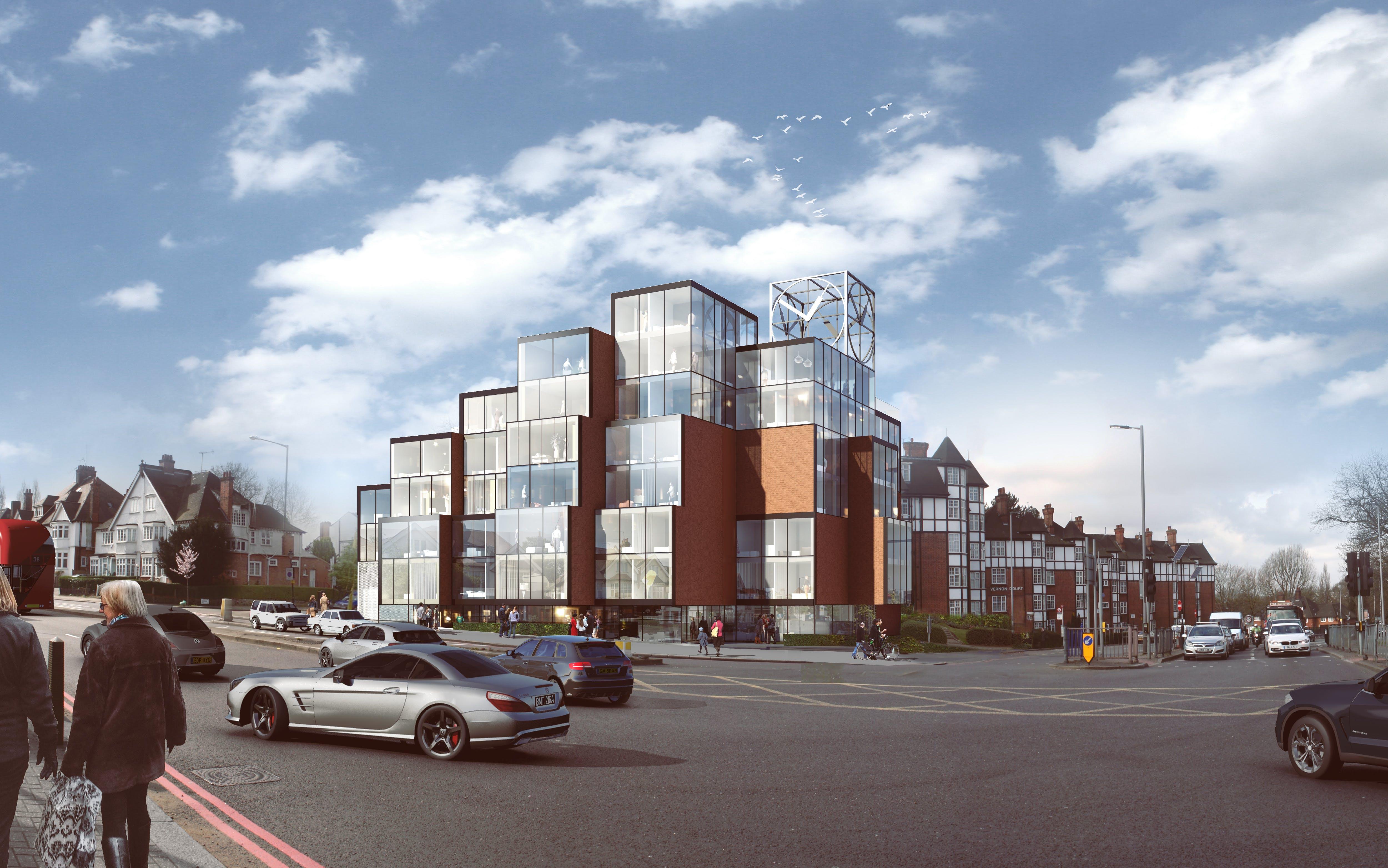Pixelated Housing gets the green light in Barnet, London | NEUBAU ...