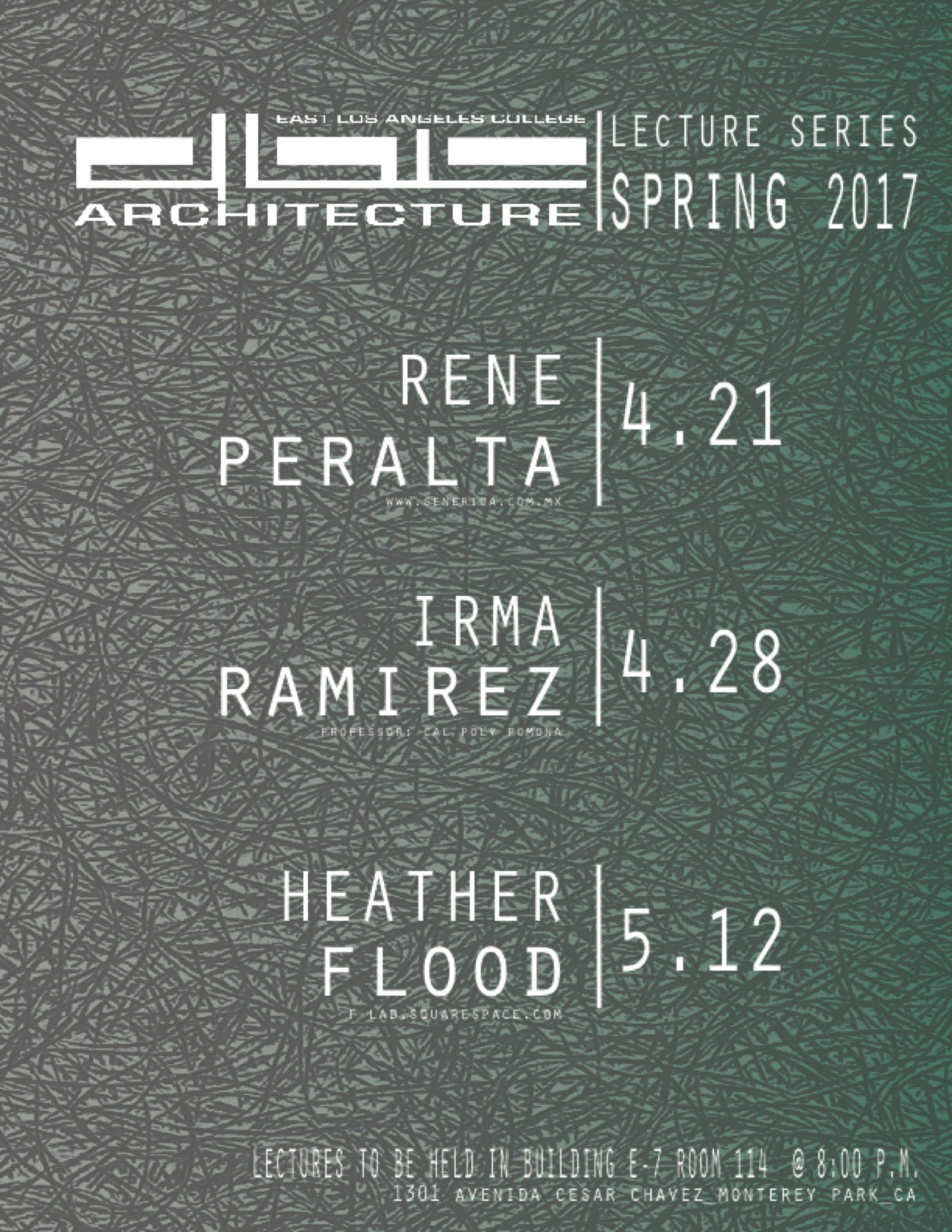 Elac Academic Calendar.Get Lectured East La College Spring 17 News Archinect